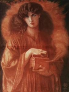 Pandora, 1869 by Dante Gabriel Rossetti
