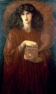 Pandora, 1871 by Dante Gabriel Rossetti