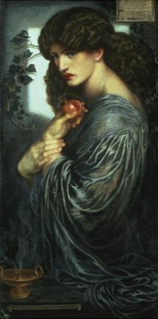 Proserpina, 1877 by Dante Gabriel Rossetti