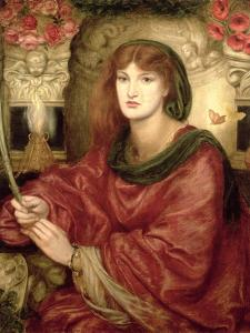 Sibylla Palmifera by Dante Gabriel Rossetti