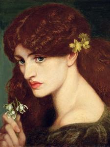 Snowdrops, 1873 by Dante Gabriel Rossetti