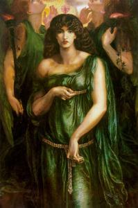 Syrian Astarte Pictured in a Trinity by Dante Gabriel Rossetti