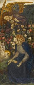 The Annunciation, 1861 by Dante Gabriel Rossetti