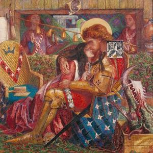 The Wedding of St George and Princess Sabra by Dante Gabriel Rossetti