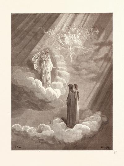 Dante's Ancestor-Gustave Dore-Giclee Print