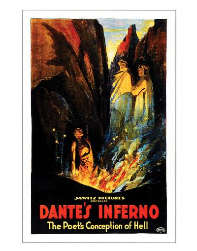 Dante's Inferno - 1922--Giclee Print