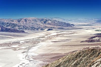Dante's view - Blacks mountains - Death Valley National Park - California - USA - North America-Philippe Hugonnard-Photographic Print