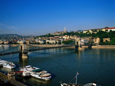 Danube, Budapest, Hungary-David Ball-Photographic Print