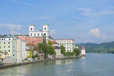 Danube River, Passau, Bavaria, Germany-Jim Engelbrecht-Photographic Print