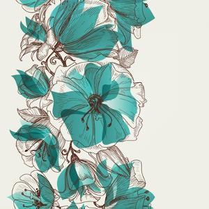 Flower Pattern by Danussa