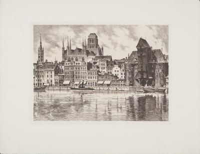 Danzig, 3 Wahrzeichen-Bruck-Collectable Print