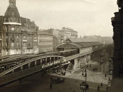 Danziger Street Railway Station--Photographic Print
