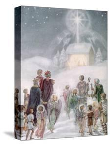 A Christmas Card from a Watercolour by Daphne Allan