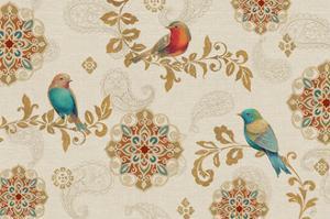 Bird Rainbow IA by Daphne Brissonnet