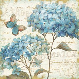 Blue Garden IV by Daphne Brissonnet
