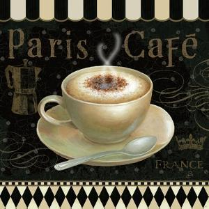Cafe Parisien III by Daphne Brissonnet