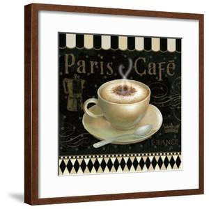 Cafe Parisien III by Daphne Brissonnet