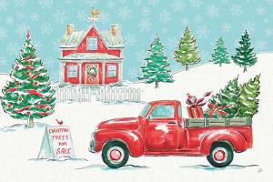 Christmas in the Country II by Daphne Brissonnet