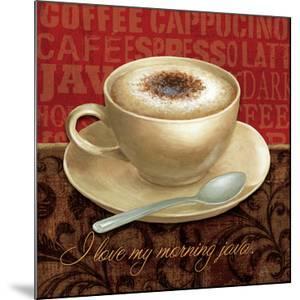 Coffee Talk I by Daphne Brissonnet