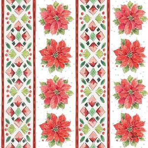 Country Poinsettias Step 06A by Daphne Brissonnet
