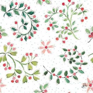 Country Poinsettias Step 07A by Daphne Brissonnet