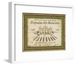 French Wine Labels III by Daphne Brissonnet