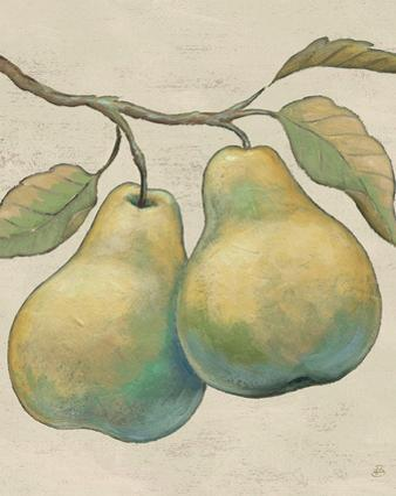 Lovely Fruits I Neutral Plain by Daphne Brissonnet