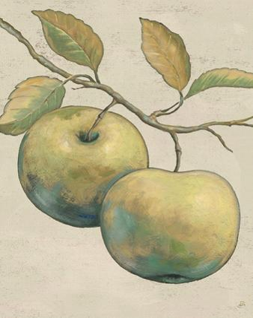 Lovely Fruits II Neutral Plain by Daphne Brissonnet