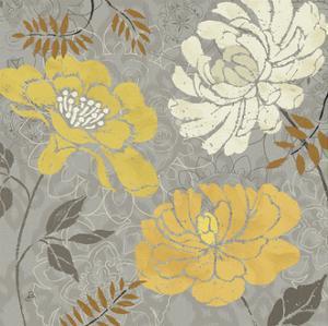 Morning Tones Gold I by Daphne Brissonnet