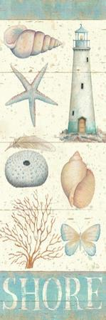 Pastel Coast Panel II by Daphne Brissonnet