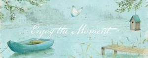 Serene Moments IV by Daphne Brissonnet