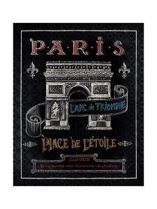 Travel to Paris II by Daphne Brissonnet