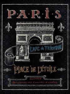 Travel to Paris II by Daphne Brissonnet