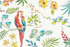 Tropical Oasis I White by Daphne Brissonnet