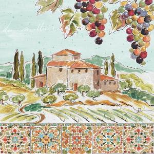 Tuscan Breeze II by Daphne Brissonnet