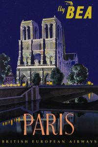 Be Paris and Notre Dame Cathedral by Daphne Padden