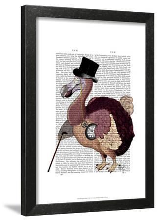 Dapper Dodo-Fab Funky-Framed Art Print