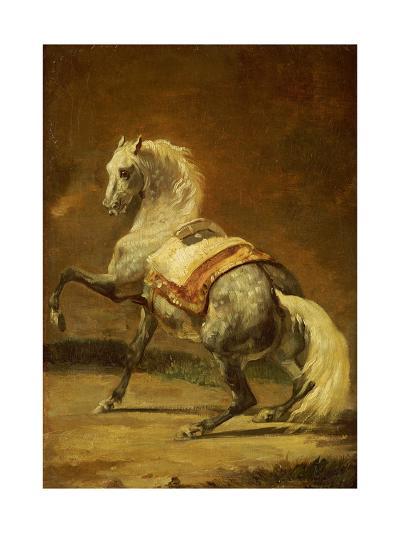 Dappled Grey Horse-Th?odore G?ricault-Giclee Print