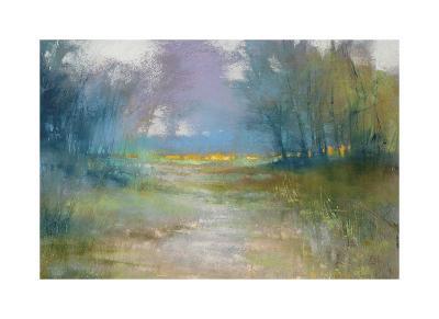 Dappled path-Barbara Newton-Giclee Print