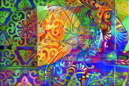 Dapples the Drowsy East-Jane Tattersfield-Giclee Print