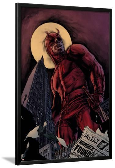 Daredevil By Ed Brubaker Saga Cover: Daredevil--Lamina Framed Poster