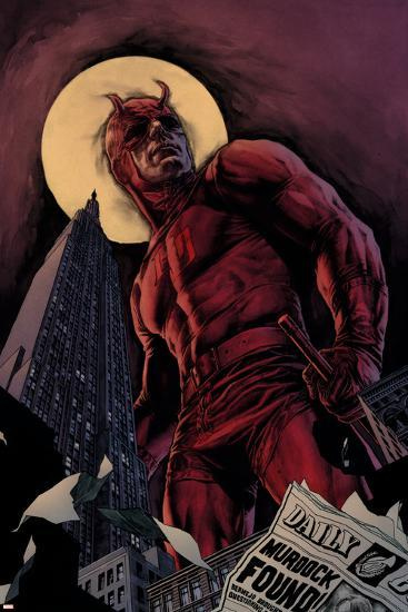 Daredevil By Ed Brubaker Saga Cover: Daredevil--Art Print