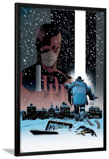 Daredevil: Dark Nights #1 Cover: Daredevil-Lee Weeks-Lamina Framed Poster