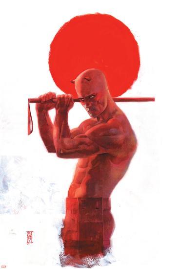 Daredevil: End of Days #8 Cover: Daredevil-Alex Maleev-Art Print