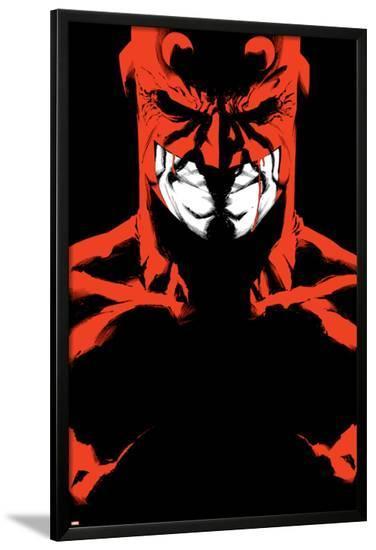 Daredevil Father No.5 Cover: Daredevil-Joe Quesada-Lamina Framed Poster