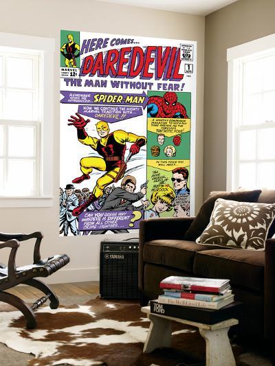 Daredevil No.1 Cover: Daredevil-Joe Quesada-Wall Mural