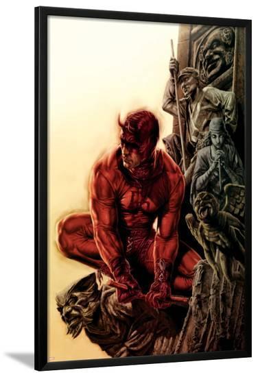 Daredevil No.100 Cover: Daredevil--Lamina Framed Poster