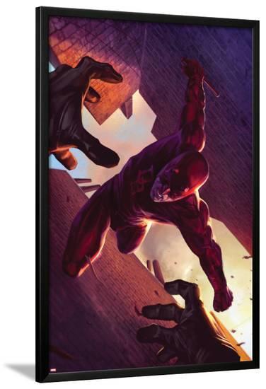 Daredevil No.103 Cover: Daredevil--Lamina Framed Poster