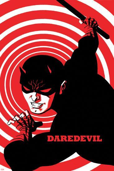 Daredevil No. 4 Cover-Michael Cho-Art Print
