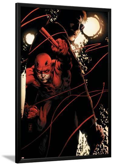 Daredevil No.500: Daredevil-Patrick Zircher-Lamina Framed Poster
